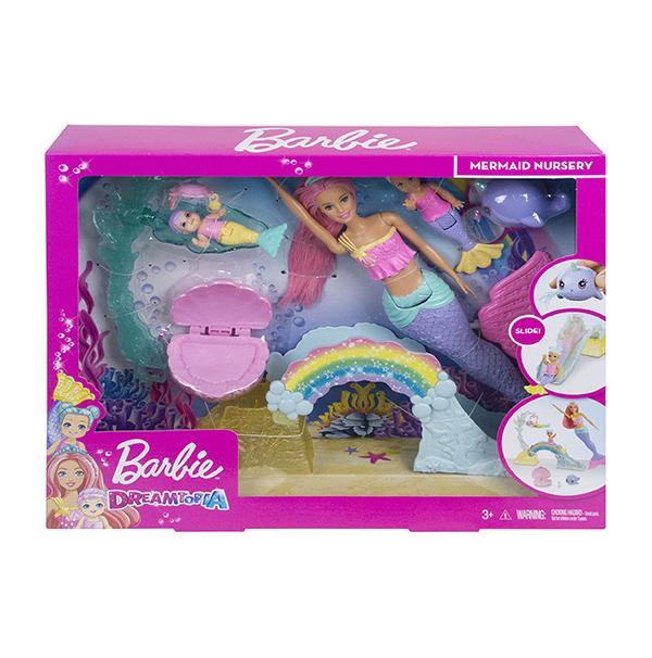 MATTEL - Barbie Dreamtopia Herní Set S Mořskou Vílou
