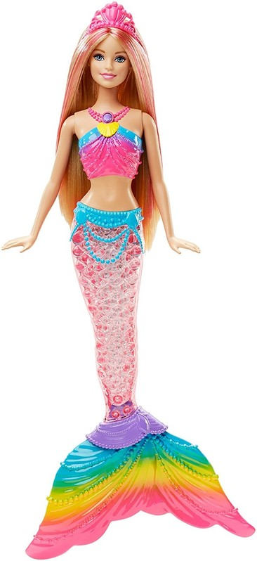 MATTEL - Barbie Duhová mořská panna DHC40