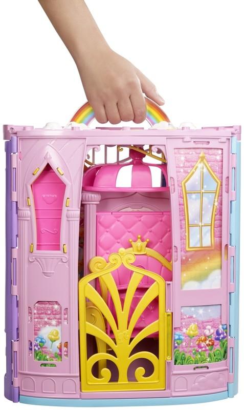 MATTEL - Barbie Duhový Zámek