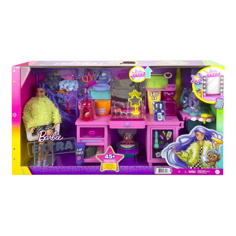 MATTEL - Barbie Extransformers Šatník S Panenkou Herní Set