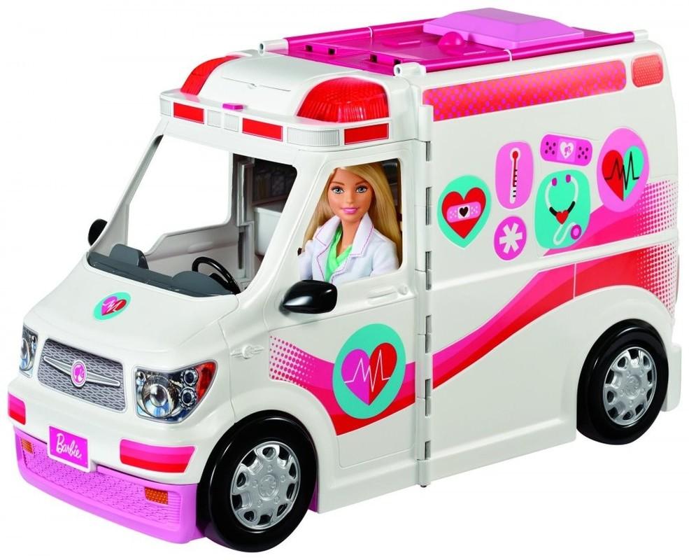 MATTEL - Barbie Klinika na kolech FRM19