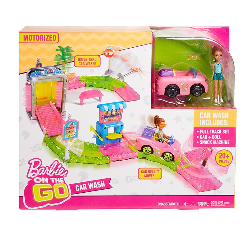 MATTEL - Barbie Mini Vozomyčka Herní Set