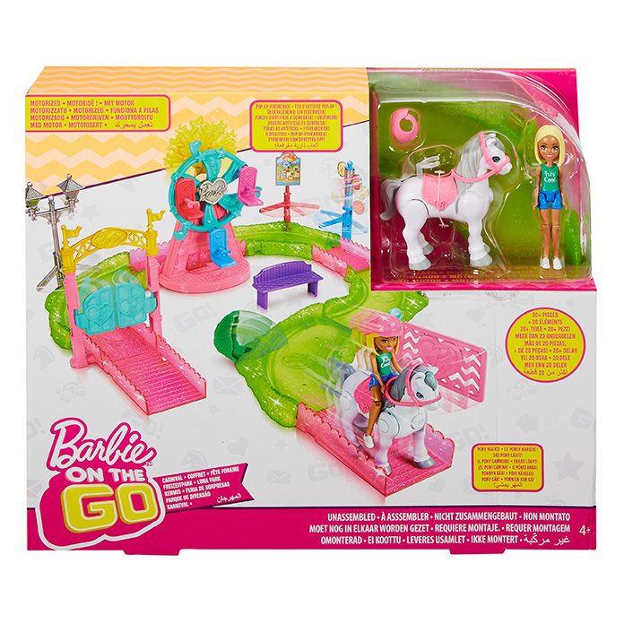 MATTEL - Barbie mini pouť herní set