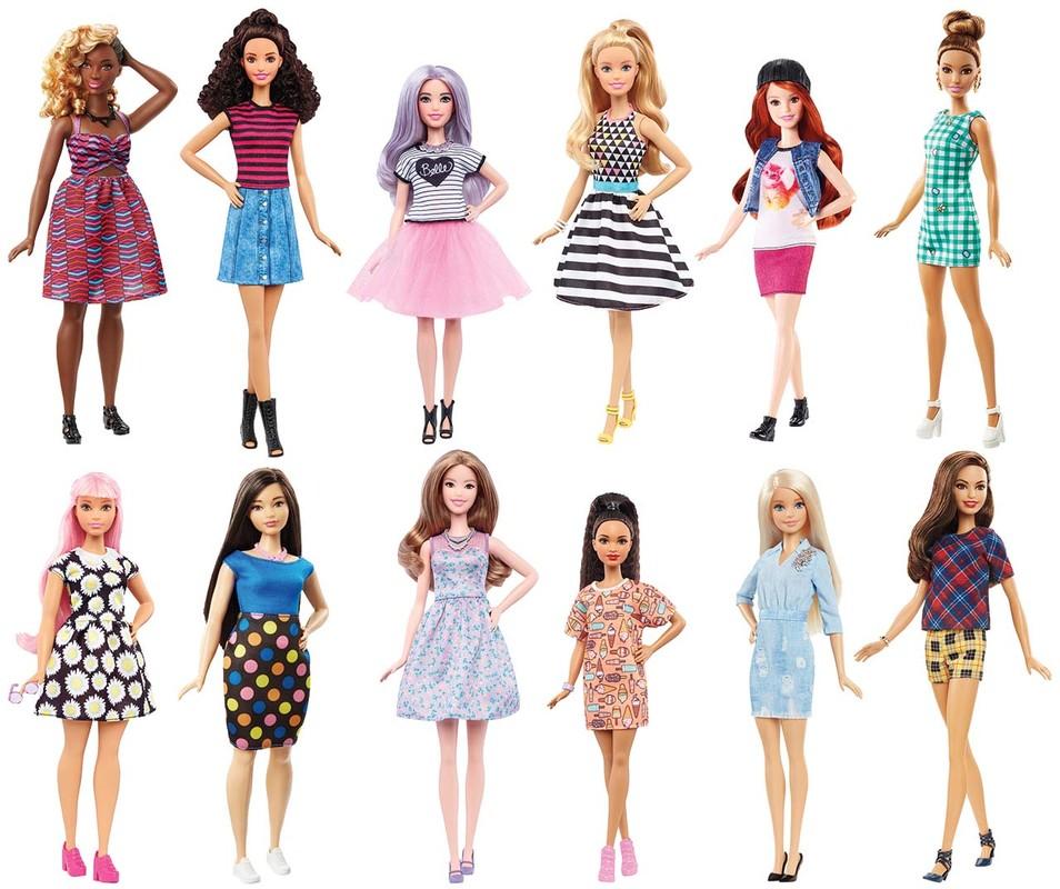 MATTEL - Barbie Modelka Asst