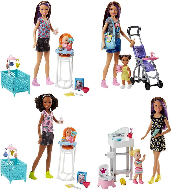 MATTEL - Barbie Chůva Herní Set Mix
