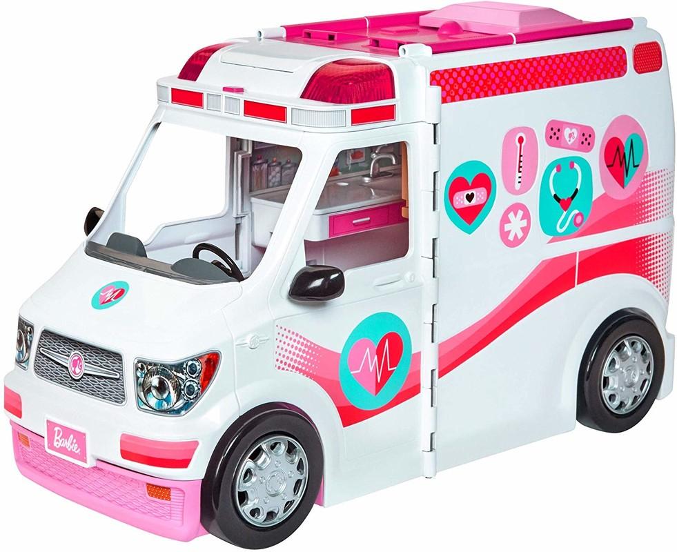 MATTEL - Barbie pojadzdná klinika