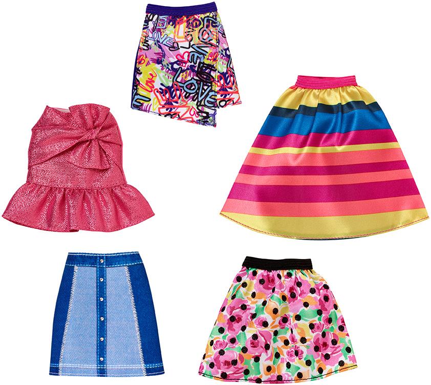 MATTEL - Barbie Sukně A Kalhoty (mix)