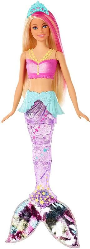 MATTEL - Barbie Svítící mořská panna s pohyblivým ocasem GFL82