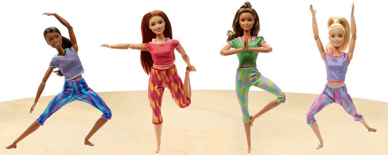 MATTEL - Barbie v pohybu 2018