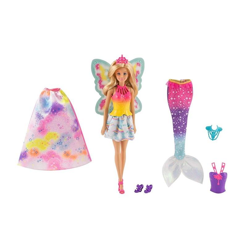 MATTEL - Barbie víla a pohádkové oblečení FJD08