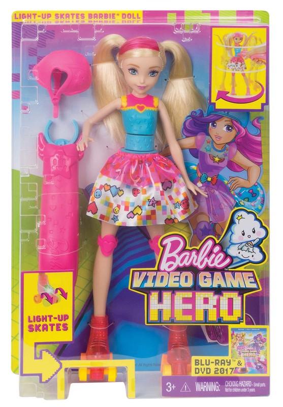 MATTEL - Barbie Ve Světě Her Na Bruslích