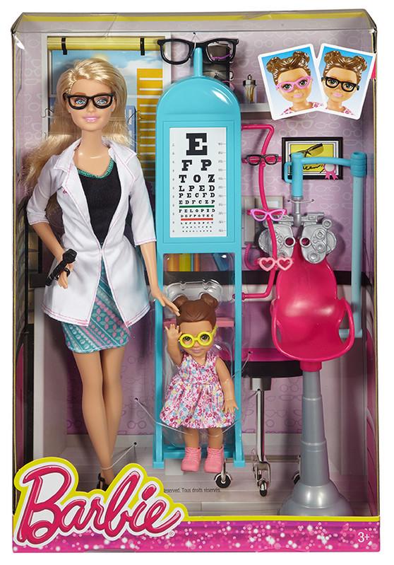 MATTEL - Barbie Povolání Herní Set S Panenkou Mix