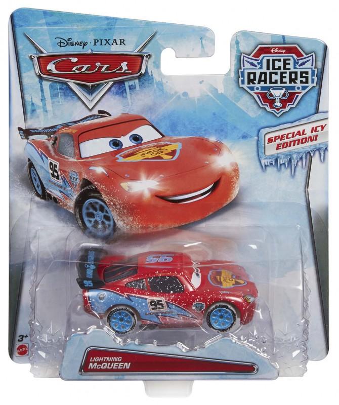 Mattel - Cars Auta Závody na ledě Asst