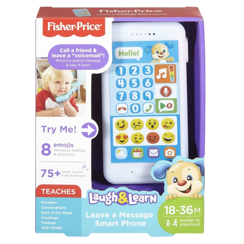 MATTEL - Fisher Price Emoji Chytrý Telefon Sk