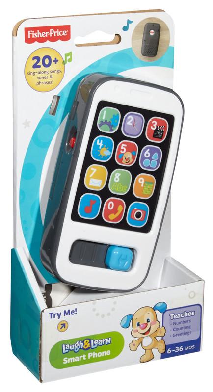 MATTEL - Fisher Price Chytrý Telefon Sk