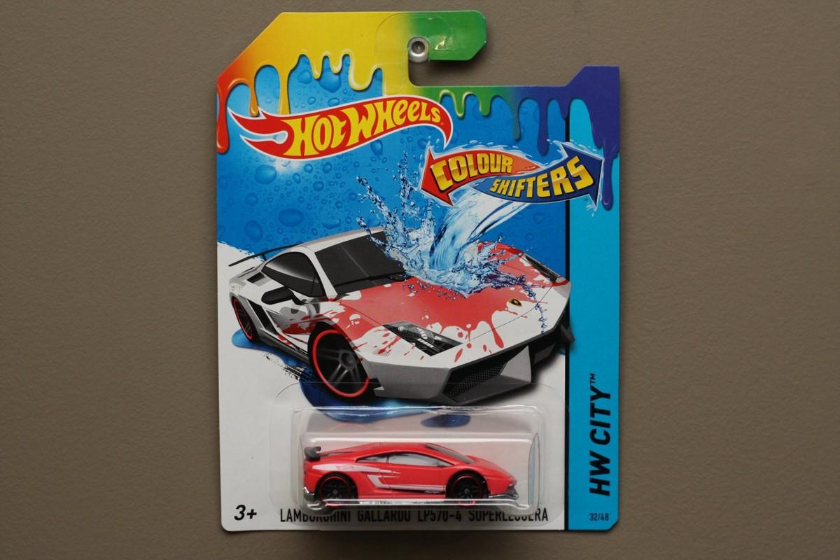 MATTEL - Hot Wheels Angličák Color Shifters Asst