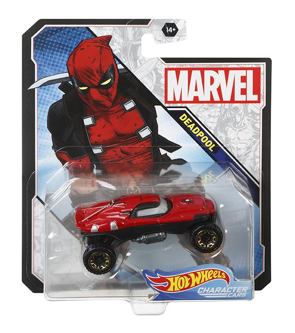 MATTEL - Hot Wheels Angličák Marvelovští Superhrdinové, Mix Produktů