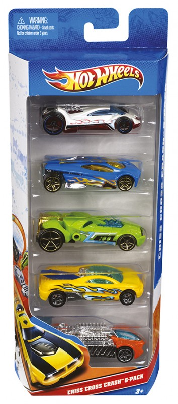 MATTEL - Hot Wheels Autíčka Hot Wheels 5ks