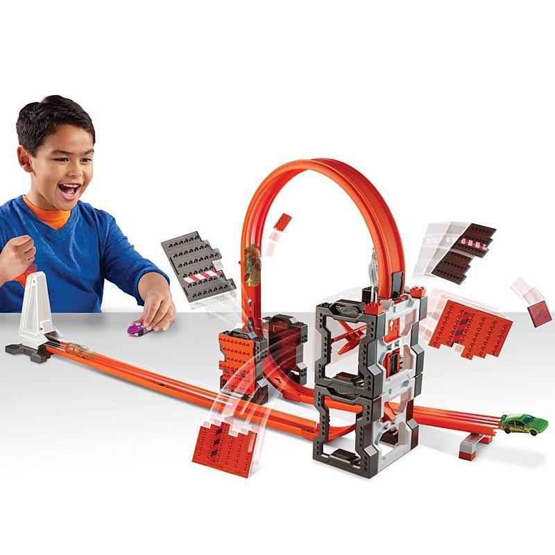 MATTEL - Hot Wheels Track Builder Bourací Set