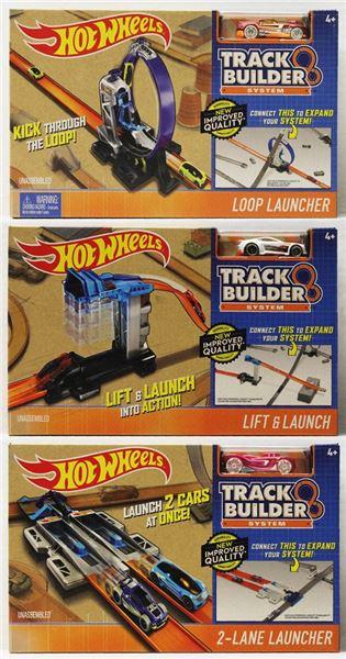 MATTEL - Hot Wheels Track Builder Doplňky A Dráhy Asst
