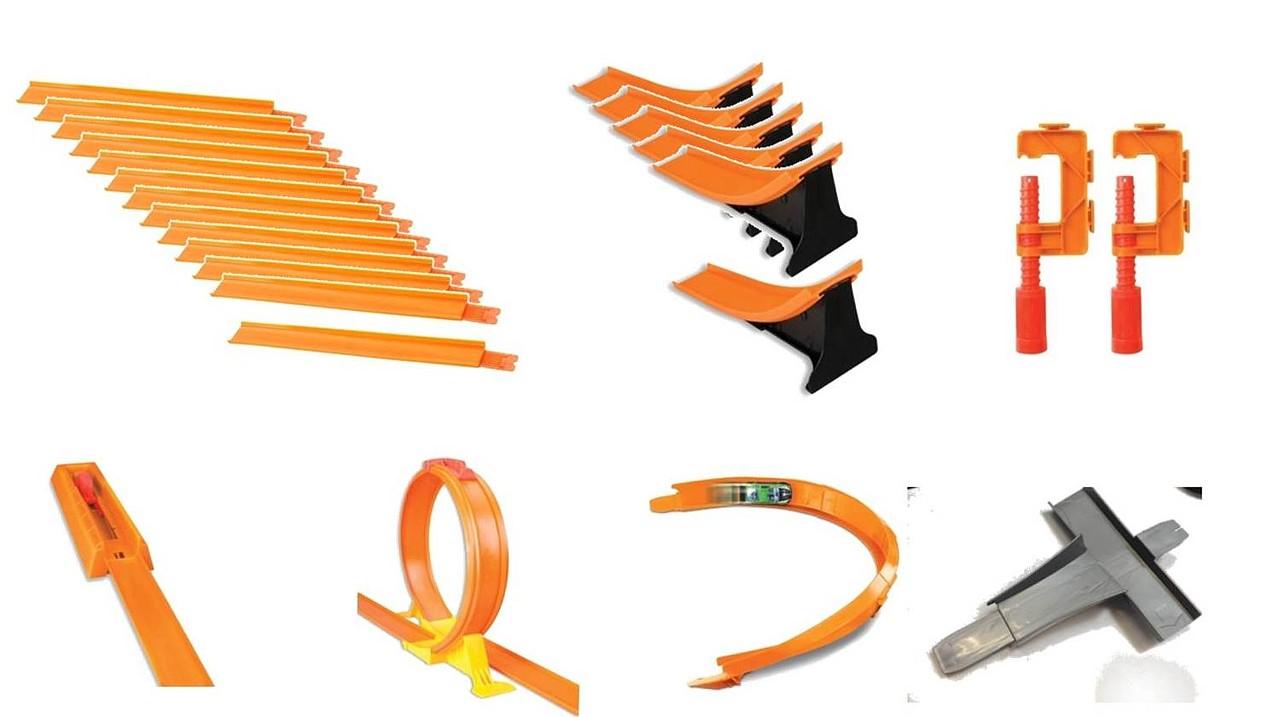 MATTEL - Hot Wheels Track Builder Super Dráha