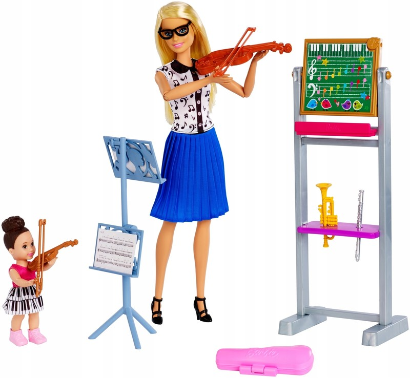 MATTEL - Hudební Barbie GHT52