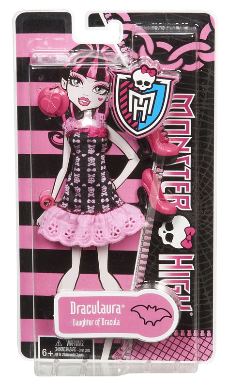MATTEL - Monster High Monster Hadříky , Mix Produktů