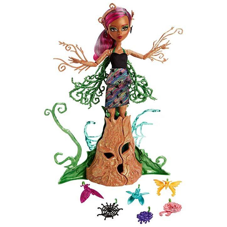 MATTEL - Monster High zahradní příšerka s křídly Cleo de Nile FCV54