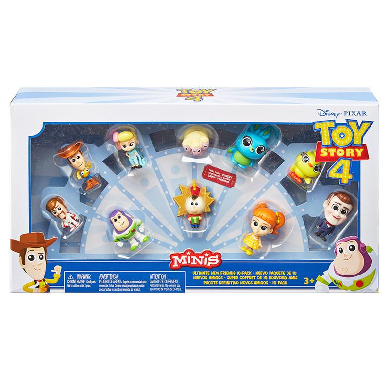 MATTEL - Toy Story 4: Příběh Hraček 10Ks Minifigurka