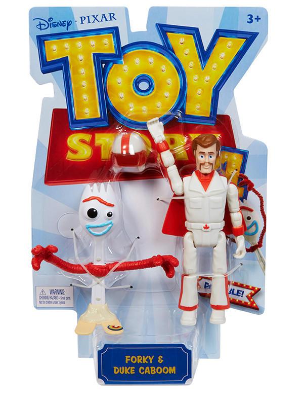 MATTEL - Toy Story 4: Příběh Hraček Figurka - Forky a Duke