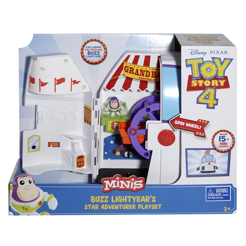 MATTEL - Toy Story 4: Příběh Hraček Minifigurka Herní Set