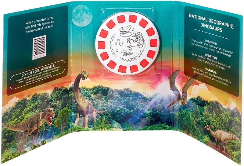 Mattel - View-Master Zážitkový balíček National Geographic Dinosauři DTN70