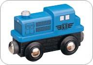 MAXIM - Dieselová lokomotiva modrá