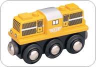 MAXIM - Dieselová lokomotiva žlutá