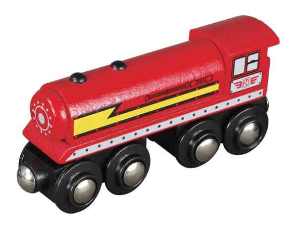 MAXIM - Parní lokomotiva červená 505027