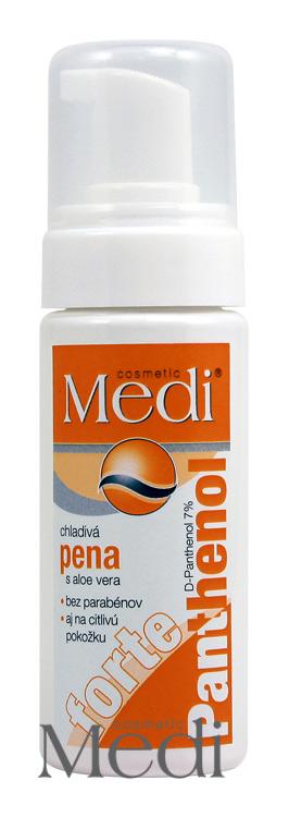 MEDI - Panthenol Forte chladivá pěna s Aloe vera 150ml