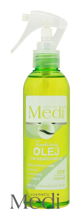 MEDI - Tradiční olej na opalování 200ml