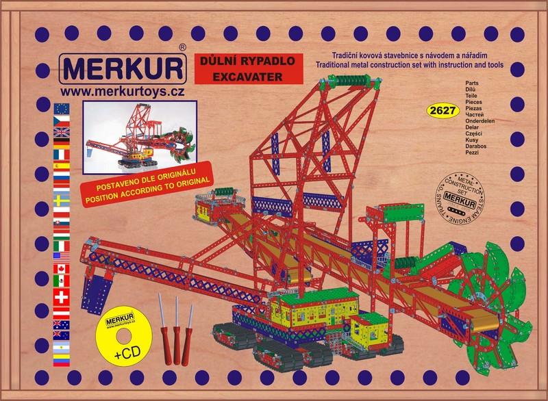 MERKUR - Maxi Rypadlo v dřevěné kazetě