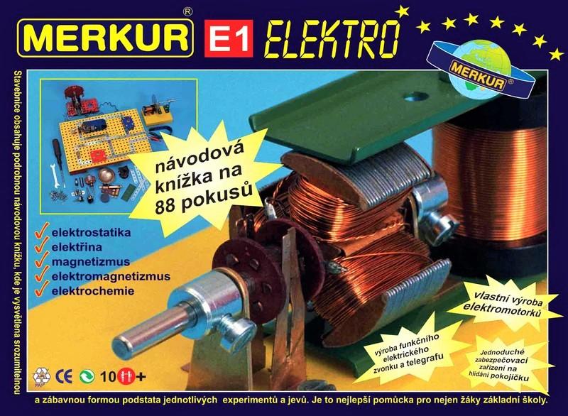 MERKUR - Merkur E1 Elektro - elektřina a magnetismus