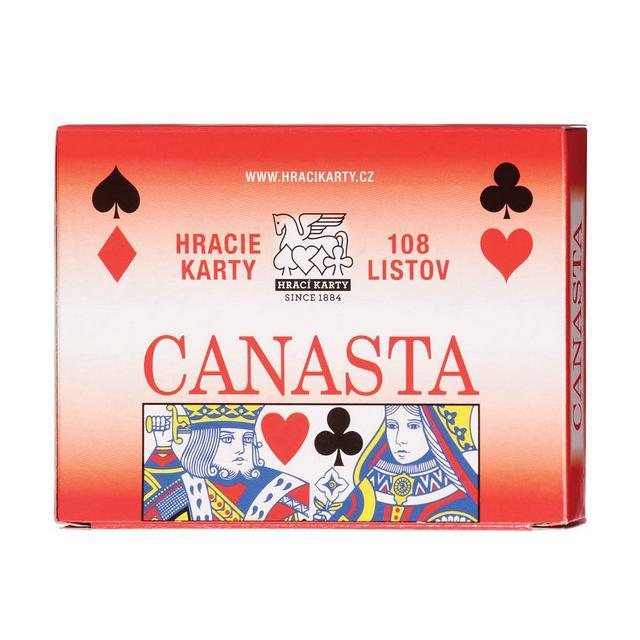 MEZUZA - Hrací karty Canasta – 1603