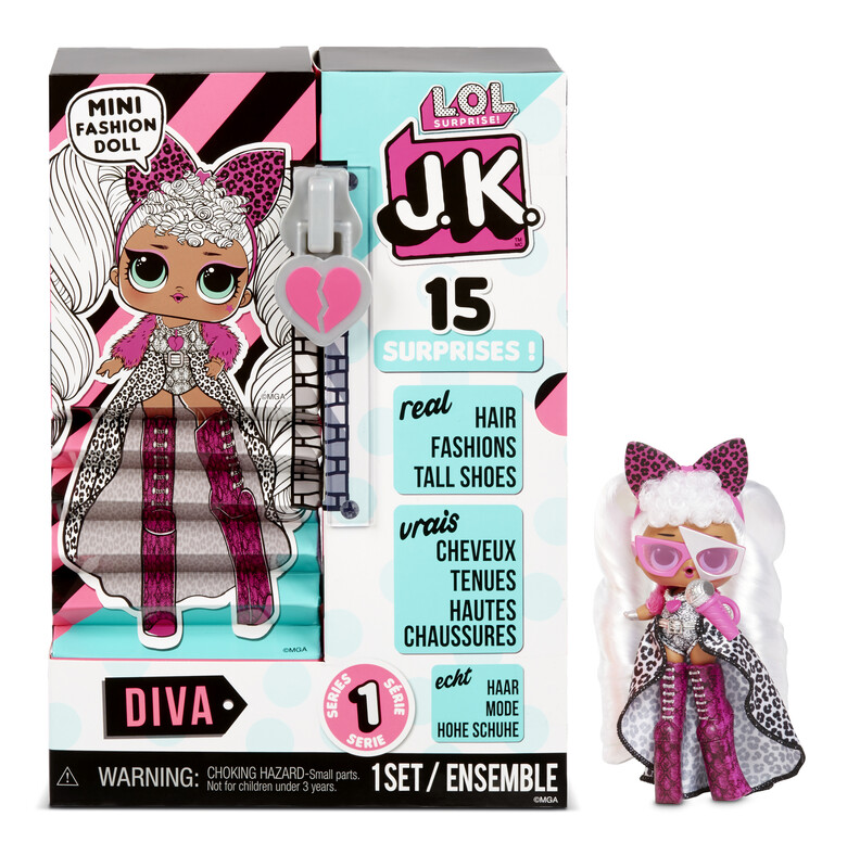 MGA - LOL Surprise! JK Doll- Diva