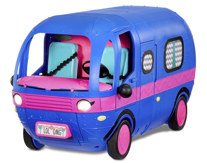 MGA - LOL Surprise! Karavan 4v1, elektricky modrá