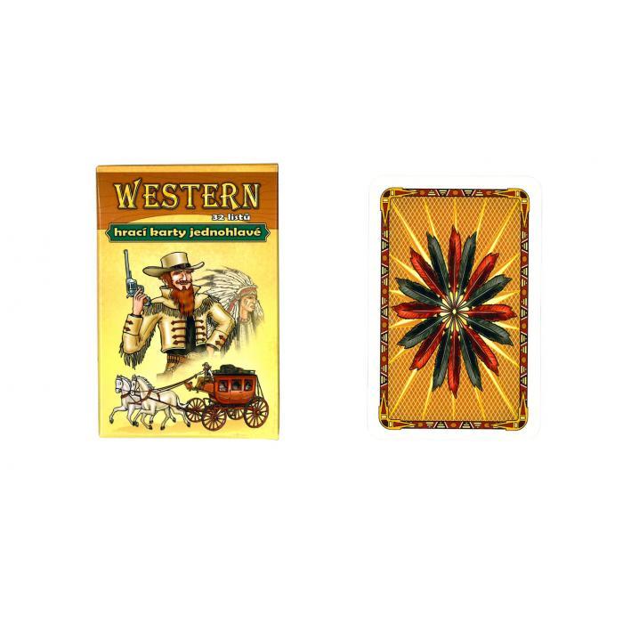 MIČÁNEK - Hrací karty Western