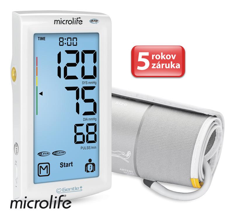 MICROLIFE - BP A7 AFIB Touch tlakoměr s dotykovým displejem