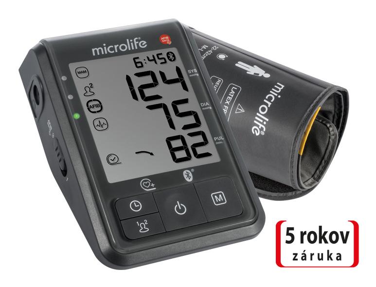 MICROLIFE - BP B6 Connect s Bluetooth® automatický tlakoměr