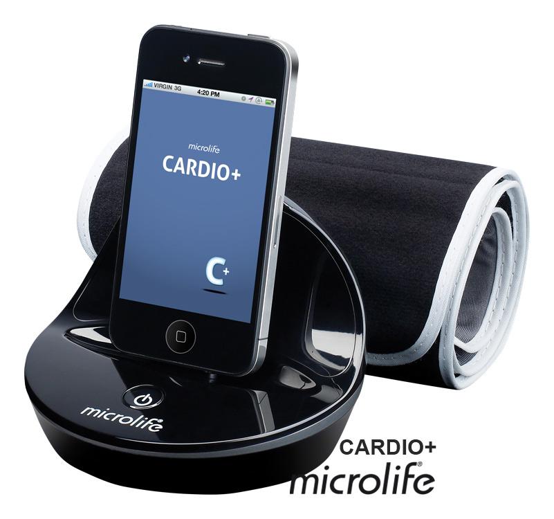MICROLIFE - CARDIO + automatický tlakoměr pro iPhone, iPod, iPad