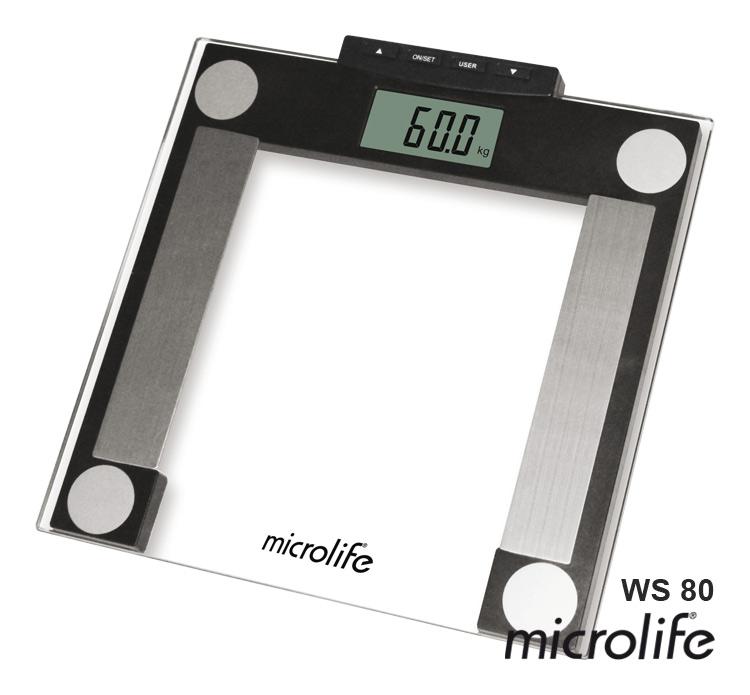 MICROLIFE - WS 80 Osobní diagnostická váha