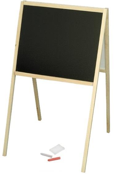 MIKRO - Dřevěná oboustranná tabule 00434