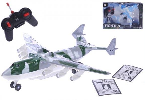 MIKRO - RC letadlo Bombardér Fierce Combatant