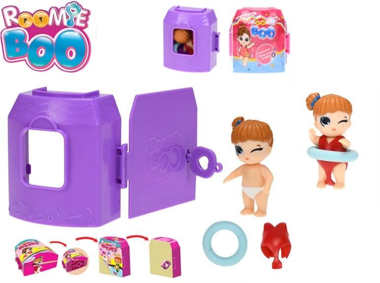 MIKRO TRADING - Roomie Boo panenka s doplňky v domku